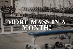خطة من أجل بناء العضلات خلال شهر واحد