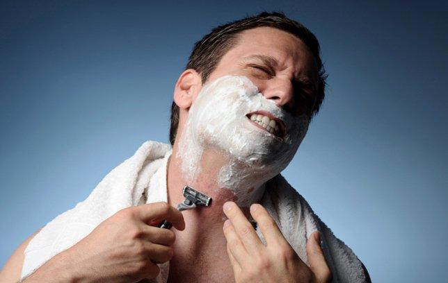 تهيج الجلد بعد الحلاقة