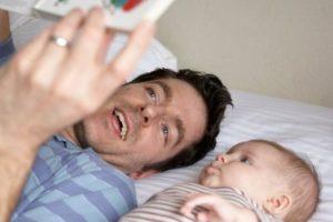 هل يؤثر الأب على صحة الأطفال